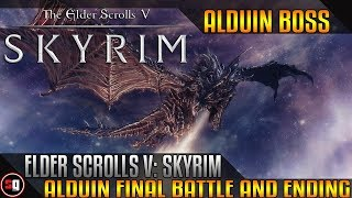 Elder Scrolls V: Skyrim - Alduin Final Battle And Ending