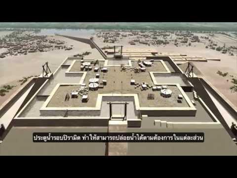 เทคโนโลยีก่อสร้าง: ปิรามิด เมืองกิซ่า สรุปและรวบรวมทฤษฎีที่เสนอในการก่อสร้างปิรามิด