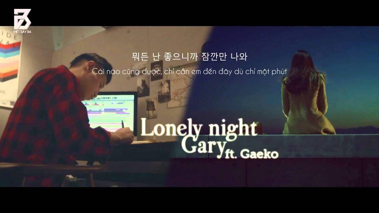 lonely night kang gary ft gaeko mp3