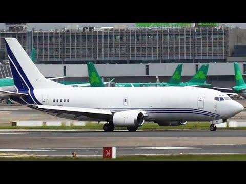 Atlantic Airlines   G-JMCL   B737-322(SF) at Dublin Airport   14/06/2016   Arrival & Departure