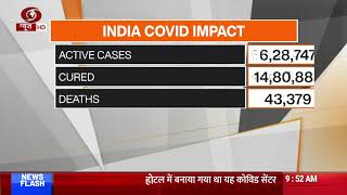 India Covid Impact: Recovery rate improves