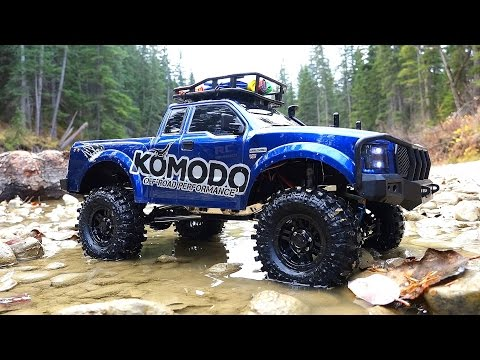 RC ADVENTURES - G Made GS01 Komodo 4x4 1/10 Electric Trail Truck - Let's go Creekin'!