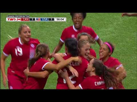 CANADA WNT 1-1 USWNT: MATCH HIGHLIGHTS