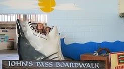 Johns Pass Boardwalk Madeira Beach FL!