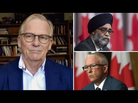 Military ombudsman has 'turned his guns' onto Harjit Sajjan: Bob Fife