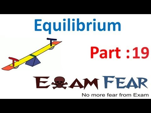 Chemistry Equilibrium part 19 (Factor affecting equilibrium: concentration change) CBSE class 11 XI
