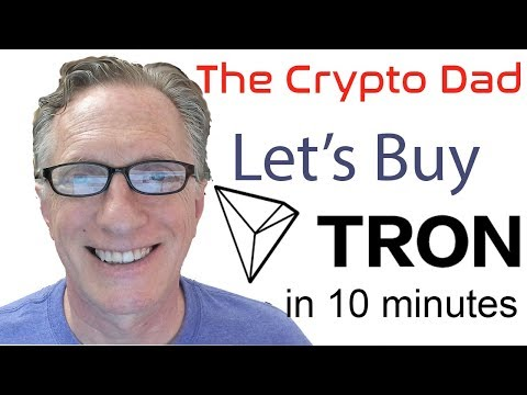 Let's Buy Some Tron In Less Than 10 Minutes