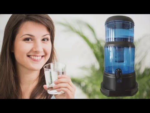 Amazing Stone Water Filter Assembly