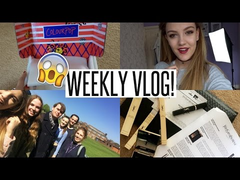 VLOG: Lots of Deliveries & The Last Day of Sixth Form!