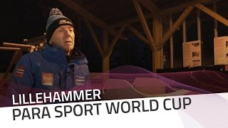 Athletes gain confidence with Lillehammer's ice track | IBSF Para Sport Official