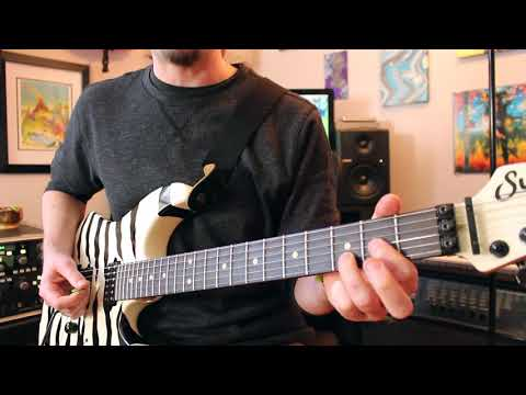 How Nuno REALLY plays He-Man Woman Hater by Extreme guitar lesson Weekend Wankshop 162