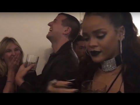 Rihanna inside the