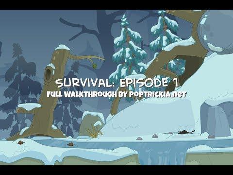 Poptropica Survival EP1 (Crash Landing) Walkthrough