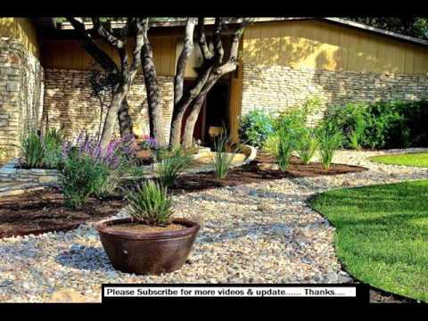 Landscaping Rocks Design | Rock Landscape Design Ideas - YouTube on rock front yard designs, desertscape front yard designs, landscaping front yard designs,