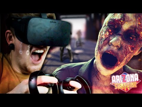 MY SCARIEST GAMING EXPERIENCE.    Arizona Sunshine (Oculus Rift VR)  