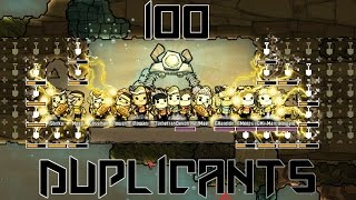100 DUPLICANTS! - Oxygen Not Included challenge