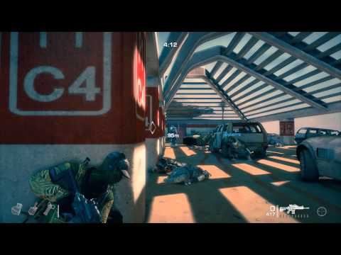 Spec Ops The Line Co-op Fubar Difficulty (Carpark Extraction)