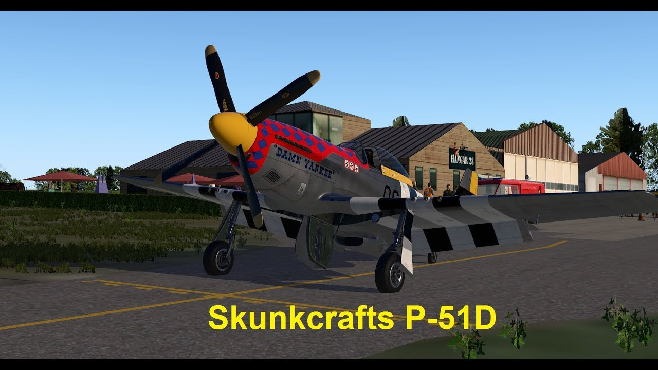 Skunkcrafts P51 Mustang for X-Plane 11