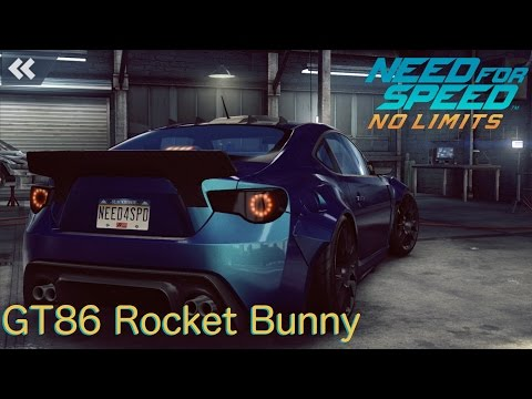 [Toyota GT86 Rocket Bunny Build] Need for Speed - No Limits [1080p / FullHD]