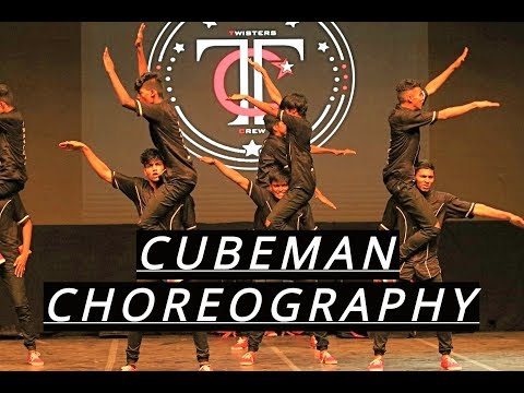 Anna University (Twisters Crew) Cubeman Choreography | Winners | IDA'S DESTINY | College Category