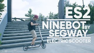 Video NINEBOT BY SEGWAY ES2 - a reasonable priced smart electric scooter download MP3, 3GP, MP4, WEBM, AVI, FLV September 2018