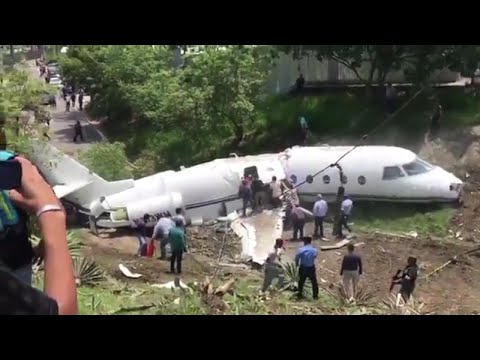 6 People Pulled From Plane Alive After Honduras Jet Crash