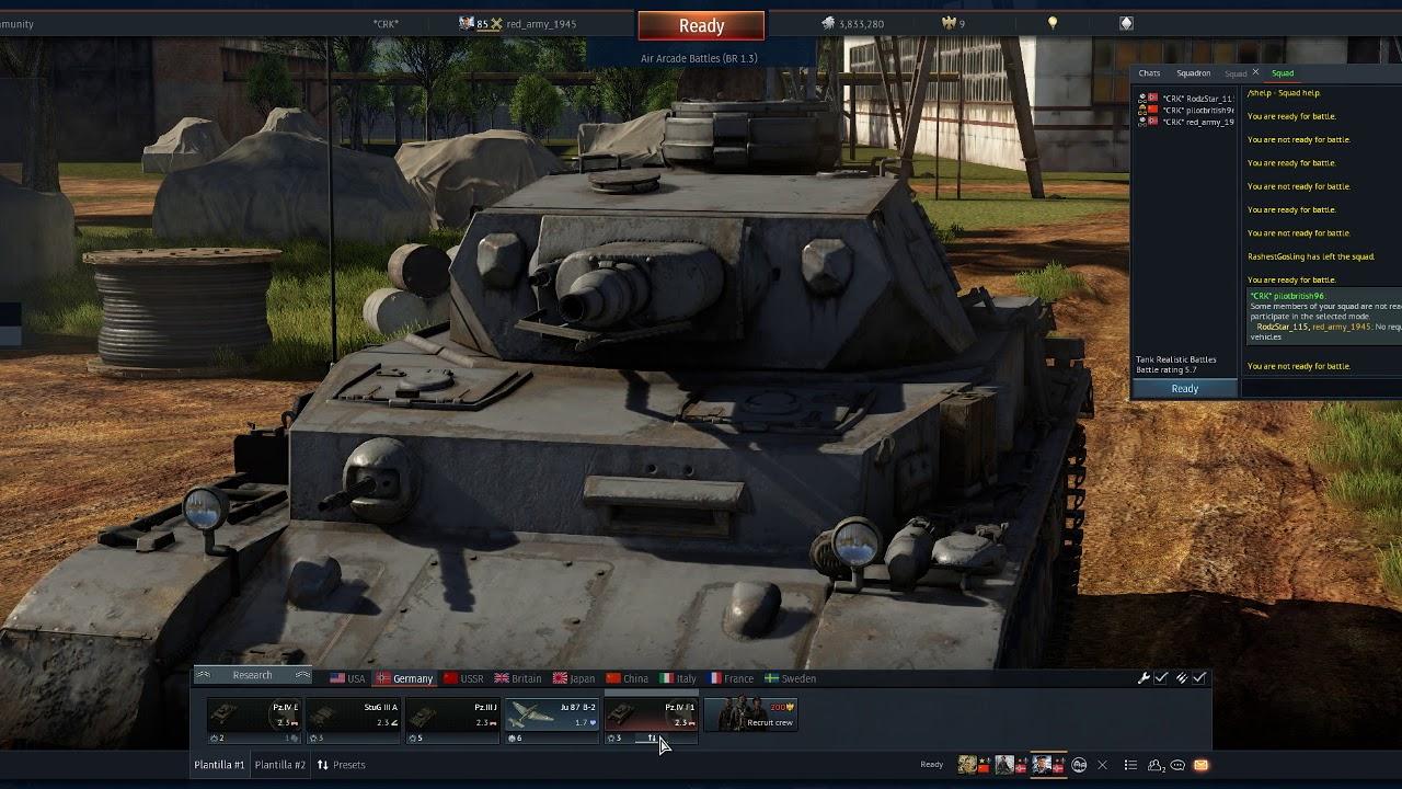 War Thunder Best Tanks 2020