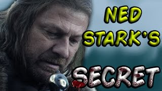 Could Ned Stark Have Fooled Us All? (Game of Thrones) THEORY