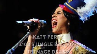 Katy Perry - Teenage Dream (Live @ Z100's Jingle Ball 2010, 1080p HD)