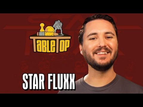 Star Fluxx: Alex Albrecht, Chloe Dykstra, and Jordan Mechner Join Wil on TableTop, episode 16