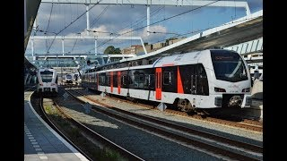 Treinen in Arnhem Centraal - 23 september 2017