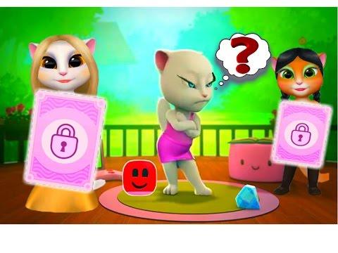 ПЛАТЬЯ АНЖЕЛЫ #13 - Моя Говорящая Анджела - Мультик про котиков Мульт ИГРА # УШАСТИК KIDS