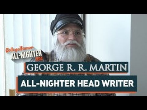 George R.R. Martin Writes The All-Nighter (All-Nighter 2014)