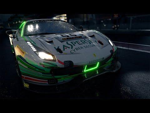 ACC GT4 Pack in 4K Resolution Online Racing NIGHT  