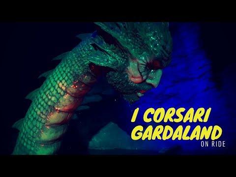 I Corsari Gardaland On ride full hd Complete Attraction ☠️☠️☠️ streaming vf