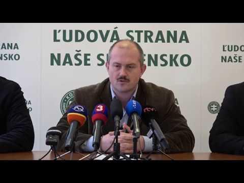 Reakcia ĽS Naše Slovensko na odchod Kaliňáka