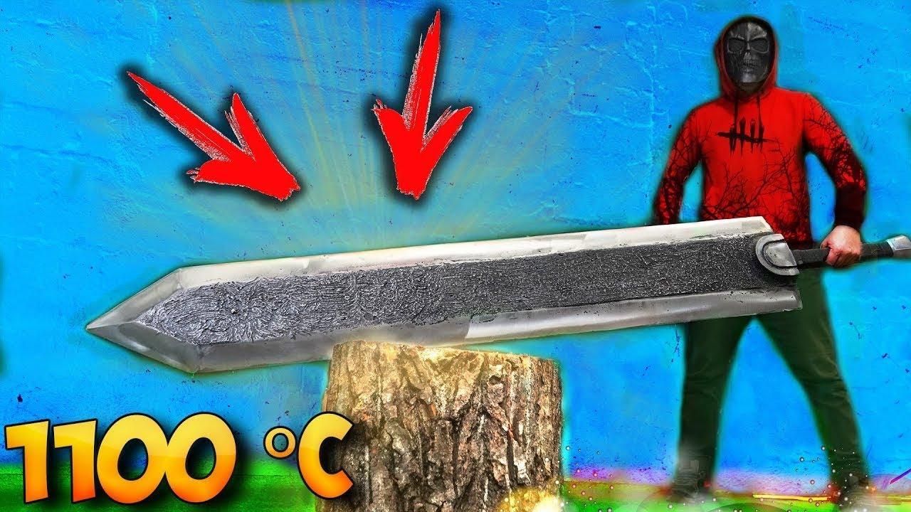 Mencetak Pedang Aluminium raksasa dari Berserk  Apa yang saya dapatkan?