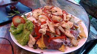 Nachos in Guatemala that will kick your butt!!