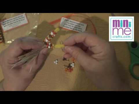 How To Fall Harvest Indian Corn Thanksgiving Girl Scout Swap Craft