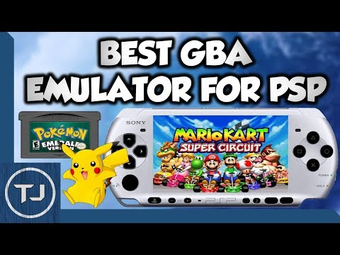 GameBoy Advance Emulator For PSP/PSP GO!