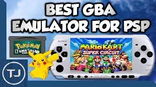 GameBoy Advance Emulator For PSP/PSP GO!