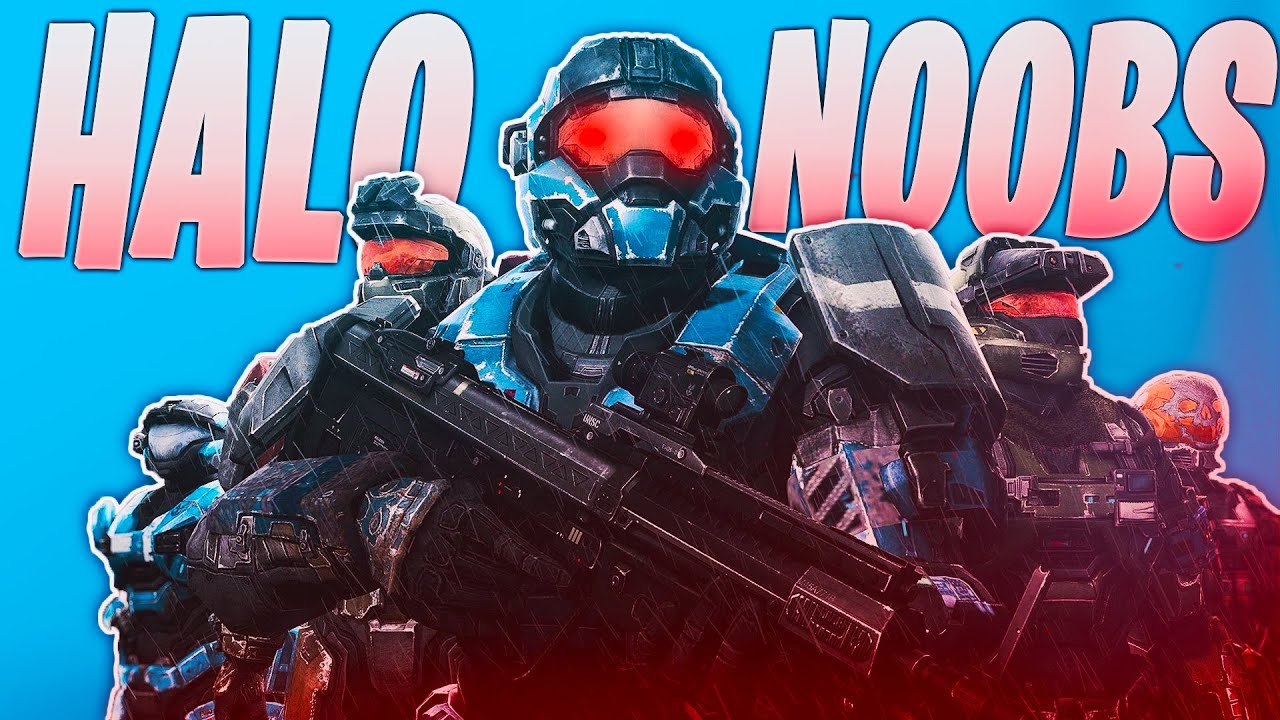 Halo Reach but we're all cod noobs