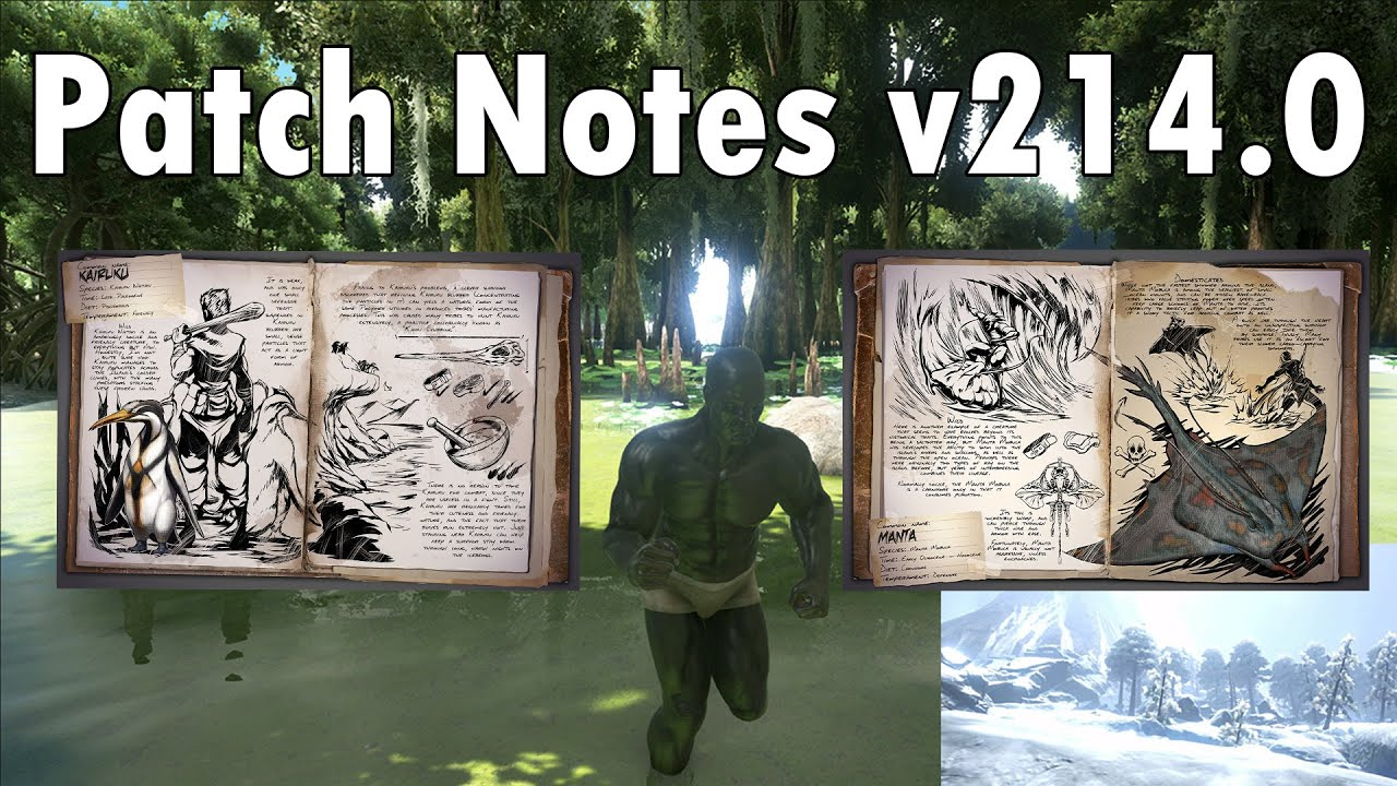 Ark survival evolved patch notes - Ark Survival Evolved Patch Notes V214 0 And Upcoming New Dinos Youtube