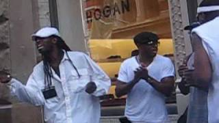 GroundStone Acappella Acoustic Group NYC Street Musician Soul Medley