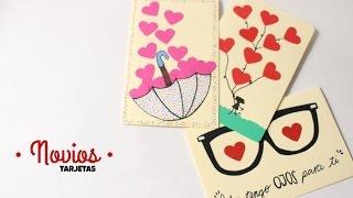 Tarjetas Hechas A Mano Con Frases De Amor 2 Ideas Para