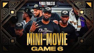 2020 #NBAFinals Game 6 Mini-Movie: Lakers Claim Banner 17
