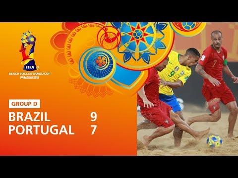 Brazil v Portugal [Highlights] – FIFA Beach Soccer World Cup Paraguay 2019™