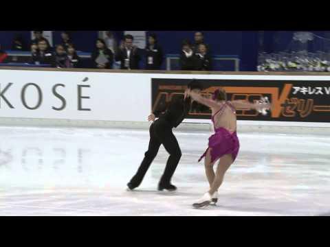 ISU 2014 Jr Grand Prix Aichi Short Dance Madeline EDWARDS / Zhao Kai PANG CAN