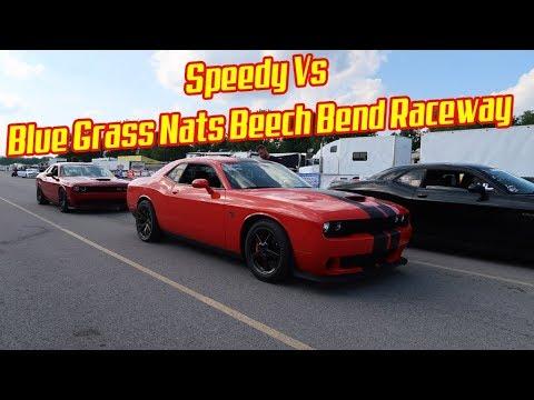 Speedy vs Blue Grass Nationals Dodge Hellcat