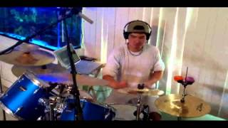 Redfoo Bring Out The Bottles DRUM REMIX COVER Rettmusic12